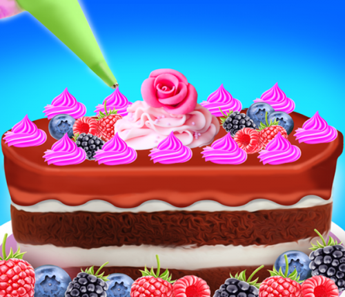 Cake Cooking Maker Games